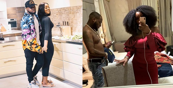 """Image result for """"Baby Did it work?"""" — Davido Jokingly asks Chioma after using Sex enhancement herbs. (video)"""