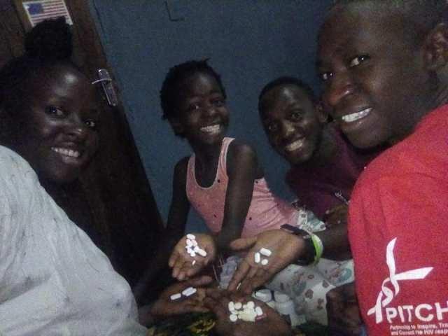 HIV positive family