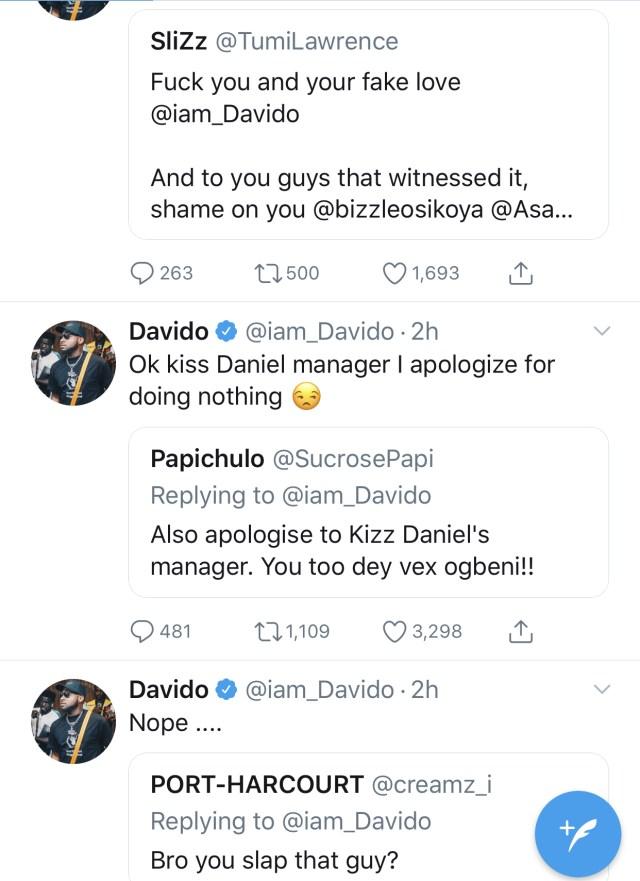 Kizz Daniel's manager