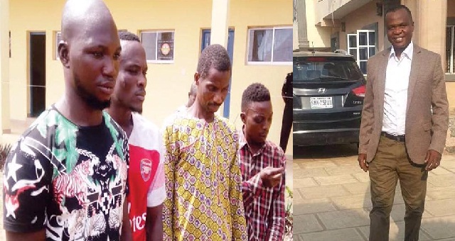 Image result for Security guard robs boss of N3m, set him ablaze in his car.
