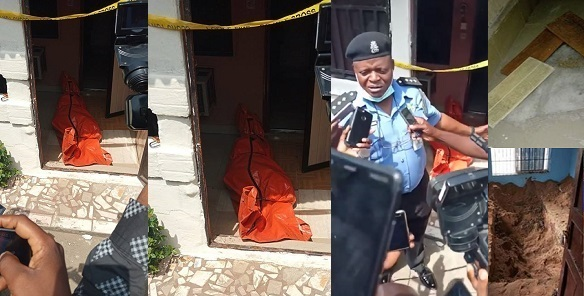Image result for Moment Police Exhumed Corpse Of Lady Who Was Buried By Her Boyfriend (video)