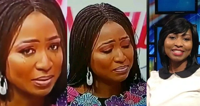 Image result for TVC presenter, Morayo Afolabi-Brown tearfully apologises to her husband after saying she wouldn't let him bath their daughter