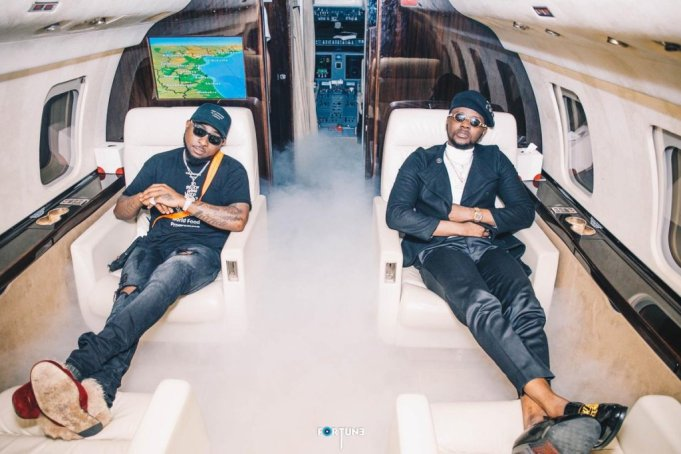 MUSICIANS: Davido &  Kizz Daniel Follow Each Other Back On Instagram