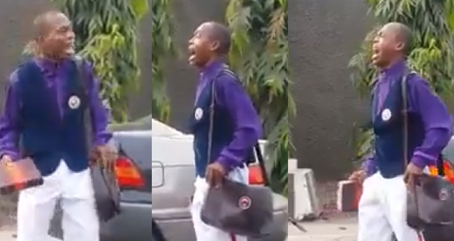 Image result for 'I need a Car, enough is enough God.' – Evangelist cries out while preaching on the street (video)