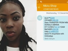 Nigerian lady duped