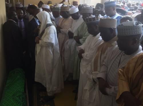 President Shehu Shagari buried