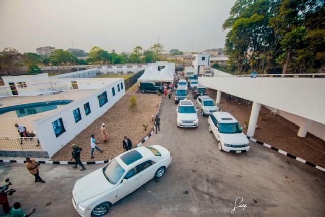 Emmanuel Emenike Mansion launch