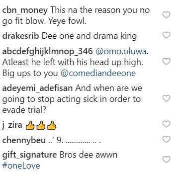 Nigerians blast Dee one