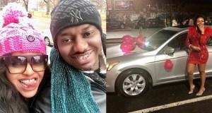 Nigerian man gifts his lady a car