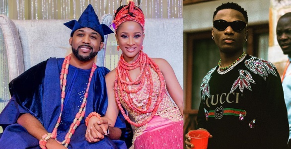 Image result for Banky W finally reacts to Wizkid's absence at his wedding to Adesua.