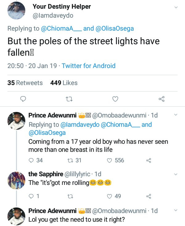 Nigerian lady replies trolls