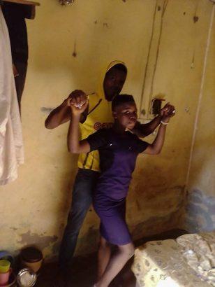 Nigerian man shows off his underage girlfriend