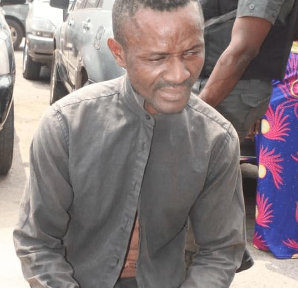 Lagos Police apprehend man