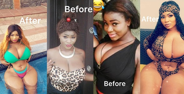 Image result for #10YearsChallenge Roman Goddess and her ample bosoms join in trending challenge (Photos)