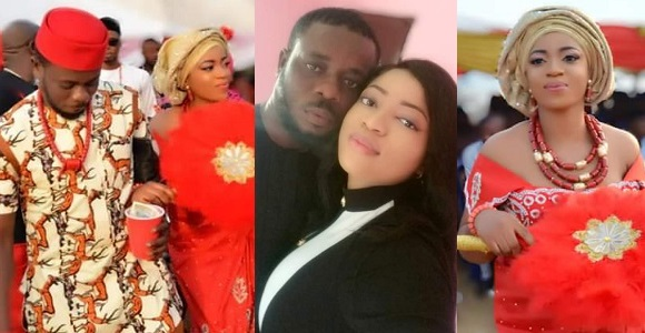 Image result for Nigerian Lady advises women as she just married the man she met in November 2018.