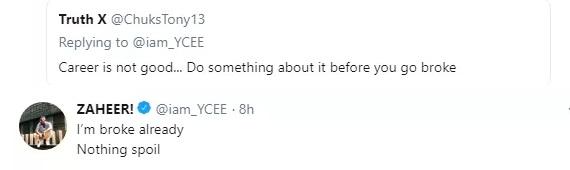 Ycee reveals