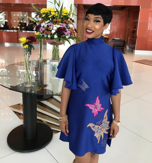 Tonto Dikeh complains after Instagram made some changes that didn't favour her