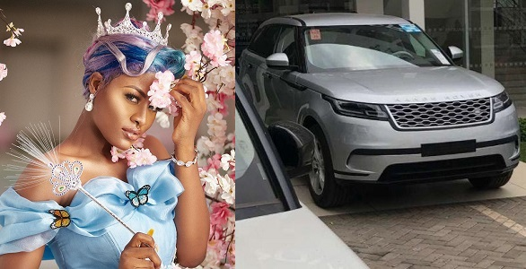 Image result for How BBNaija Alex rejected a 2018 Range Rover car Gift