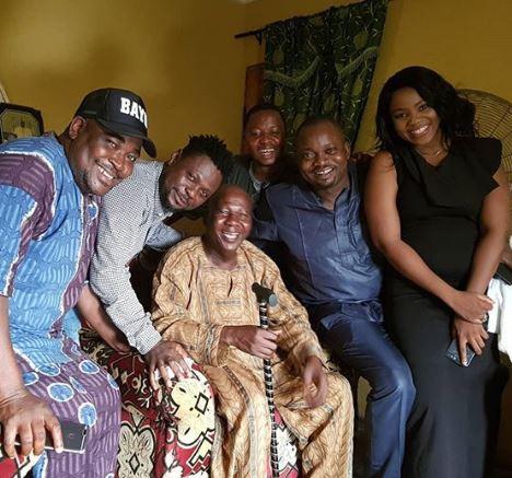 Yoruba actors visit Baba Suwe