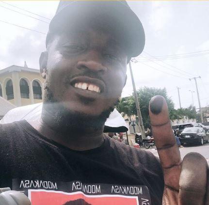 MI Abaga casts his vote despite being sick