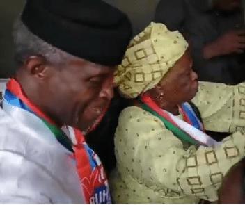 Yemi Osinbajo's mother