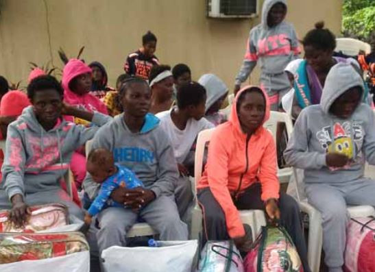 Two suspected traffickers arrested as another set of 164 Nigerians return from Libya