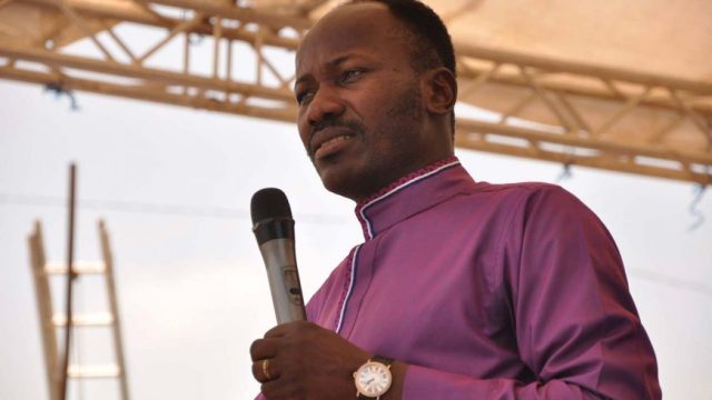 Apostle Suleiman admonishes