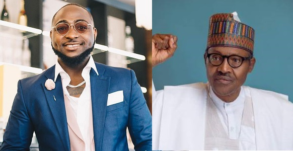 "Image result for ""I am confused why anyone will want to vote for Buhari again"" — Singer Davido"