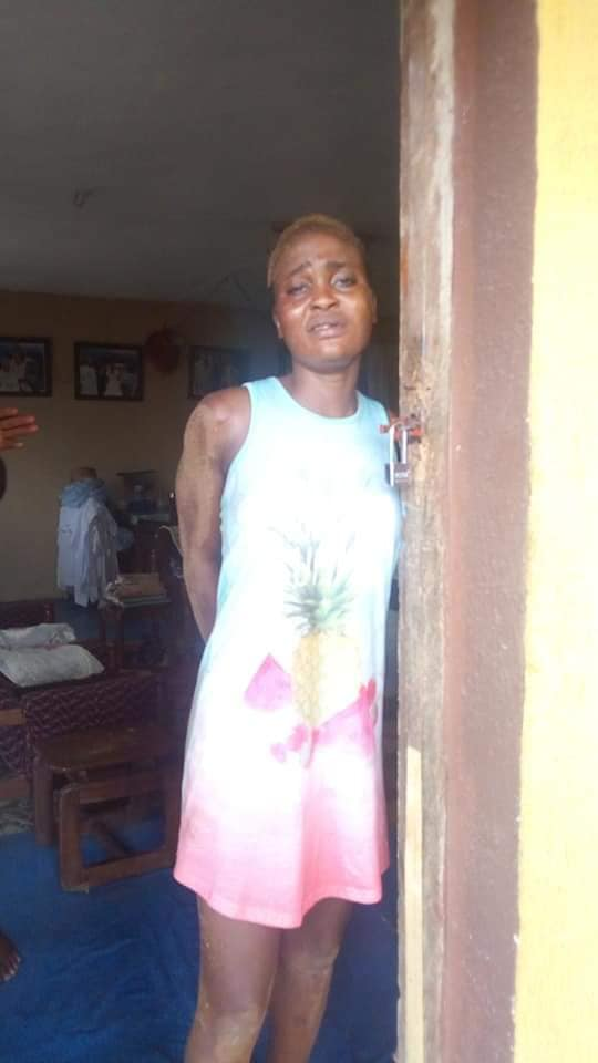 Nigerian female ex-convict