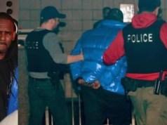 R Kelly arrested