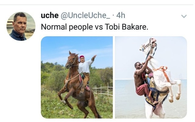 BBNaijas Tobi Bakre accused
