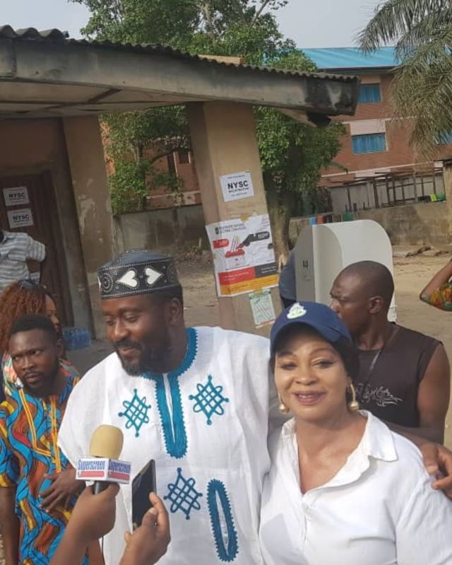 Desmond Elliot wins re-election