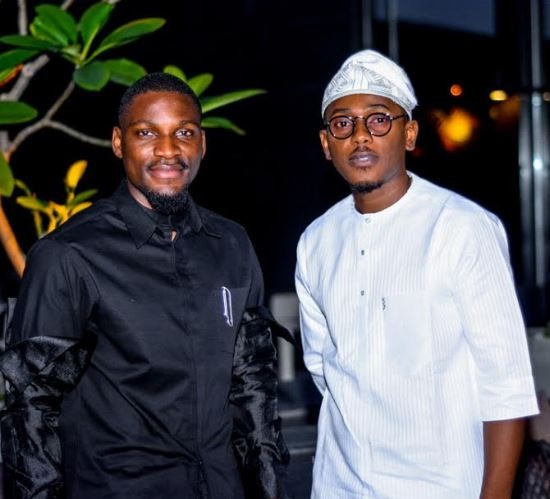 #BBNaija Tobi & CeeC Spotted At A Dinner Party After The Explosive BBNaija Reunion Episode