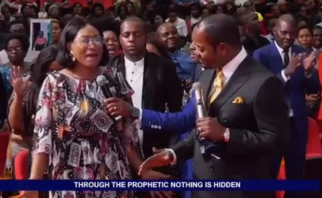 Oge Okoye at long last uncovers why she visited Pastor Lukau's Church