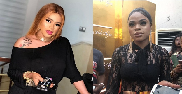 Image result for Bobrisky regrets bleaching his skin, complains about the stress involved in applying creams.
