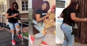 Funke Akindele Dances Zanku Leg Work, Funke Akindele Zanku