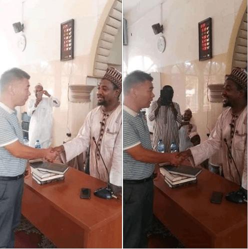Chinese man converts