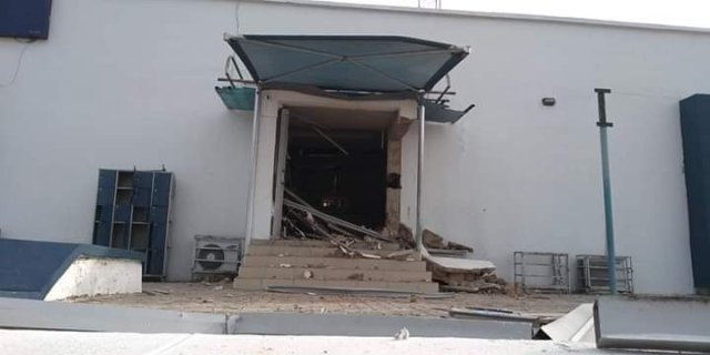 Armed robbers attack Bank