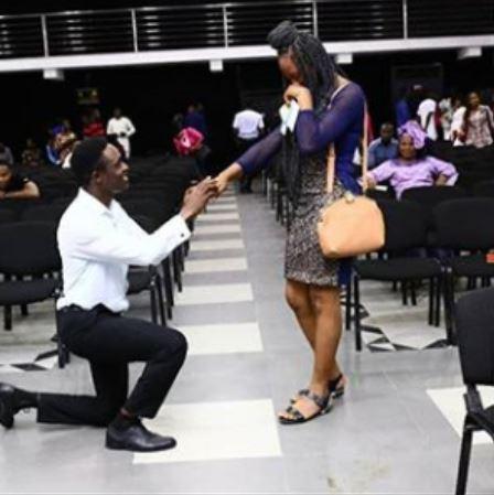 Nigerian gentleman proposes