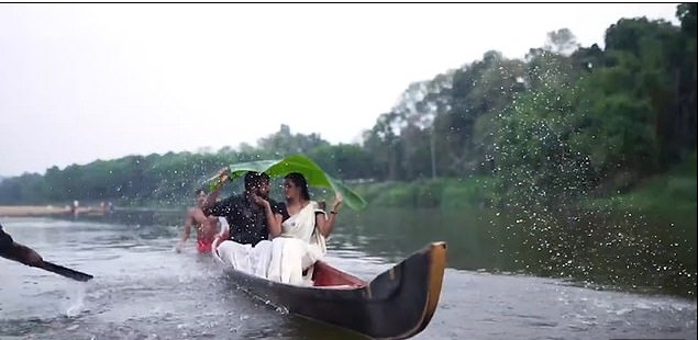 Lovers Fall Into A River After Canoe Tipped During Pre-Wedding Photo Shoot