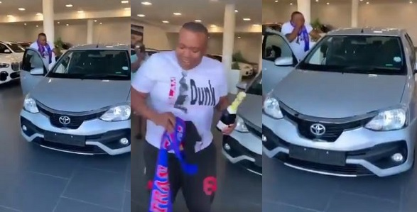 Guys buy their friend a car cause they're tired of picking him up (Video) - YabaLeftOnline