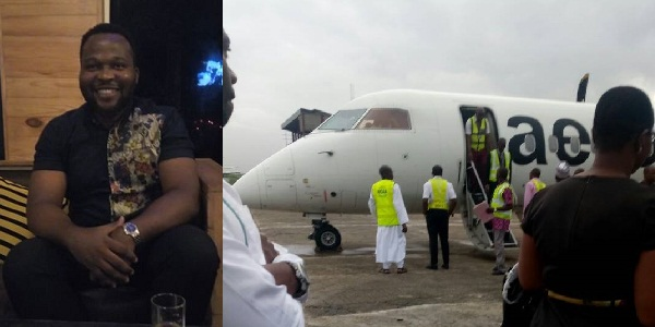 Image result for Nigerian airline company accused of flying passengers halfway then putting them into a bus to continue the rest of the journey (screenshots)