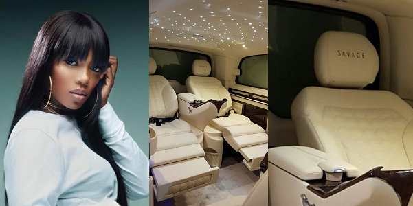 "Image result for Nigerian songstress and Starboy WIzkid bestie, Tiwa Savage has just acquired for herself a multi-million naira whip!! Not just that.. It is fully customized to her name, ""TIWA SAVAGE""."