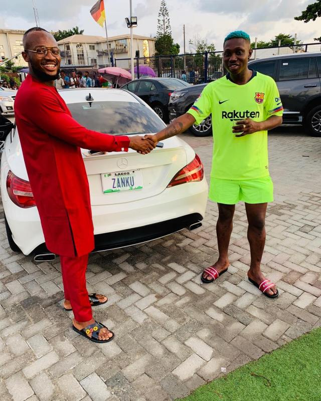 Zlatan Ibile Acquires Mercedez Benz Car