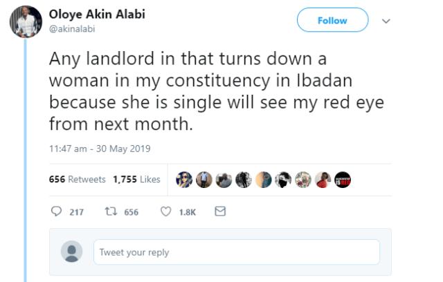 Akin Alabi promises