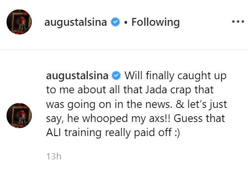 August Alsina claims