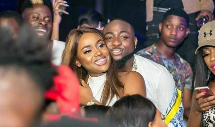 "Davido jokingly proposes to Chioma, she says ""no""."