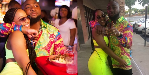 Chioma Avril Appears To Have Thrown A Shade At Davido's Baby In Atlanta