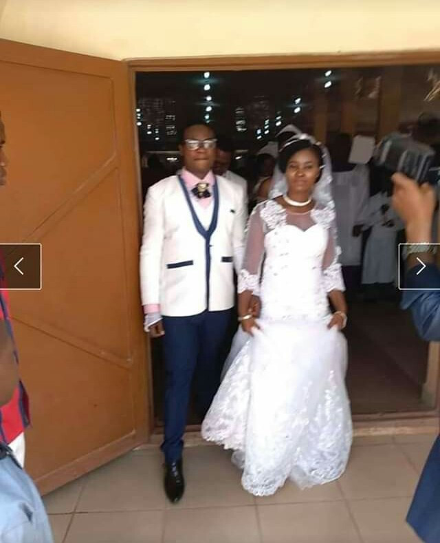Newly-wed Nigerian couple share