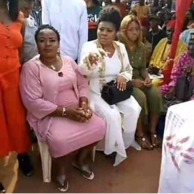 Regina Daniels looking 'sad' at her traditional wedding to Ned Nwokwo